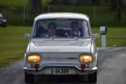 At dette er ekte Hedmarkinger er det ingen tvil om, som kommer her i sin Renault 10