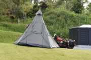 Og så - simsalabim - det ble et telt ut av det