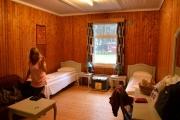 Ankomst Frya leir, dette er rommet vårt
