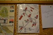 Her er område kartet, kan brukes til fugler turen og navngi bygninger