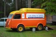 Her står pub bilen vår klar til servering av drikkevarer