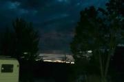 Solnedgangen, da er det snart - natta