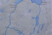 Lørdag Øysand camping - Kjøreruta