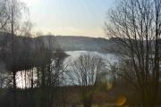 Østensjøvannet på sitt beste, du kan se antydning til morgen frost