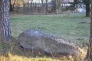 Vi så ingen ting på steinen nå og vi merker kuldegradene på fingrene