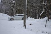 Snø haugen er borte, nå er det snø overalt