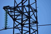 Noen fugler lander i strøm masten