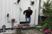 Øy-hopping betyr at du må begynne hjemmefra med et kjempehopp