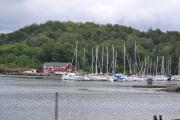 Hovedøya - Gjennom den skogen der gikk vi og havnet på baksiden av skolen