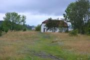 Hovedøya - Nå har vi kommet til en slette hvor det også står en bygning