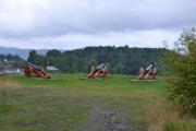 Hovedøya - Og her ser vi tre av de gode gamle kanonene