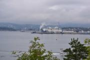 Hovedøya - Her ser vi Color Line, båten til Kiel