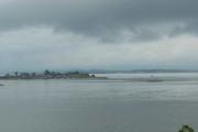 Hovedøya - Et siste blikk utover, det holder seg fremdeles overskyet