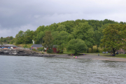 Hovedøya - Vi tar et blikk bakover, fine bade muligheter her også