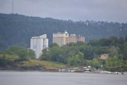 Hovedøya - Strand Unikorn, ca. 80 000 tonn matkorn skipes inn her hvert år