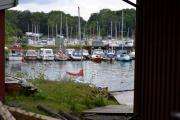 Hovedøya - Vi tar en titt mellom bygningene