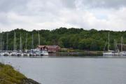 Hovedøya - Det er mange båter her også