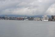 Hovedøya - Nå står vi på Hovedøya og ser inn mot Oslo