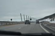 Ferden går videre og vi blir forbi kjørt av en Renault Scenic
