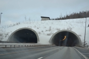 Ny tunell, den tredje vi kjører inn i nå