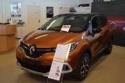 Renault Captur er fremdeles aktuell, flott å se på også