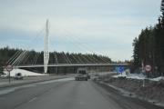 Broen vi kjenner igjen når vi skal ta mot Elverum når vi er på vei oppover
