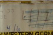 Kløtsj plate etikett
