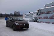 Her har vi en Renault og så tøff den var, ser dere den rypa bak?