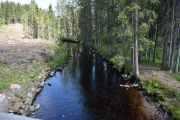 Engebret Soot bygde dette kanal- og bane anlegget fra 1847 til 1849