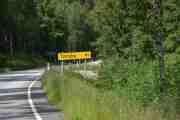 41 km til Torsby men vi skal overnatte før vi kommer ditt på Nya Skogsgården