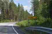 Kjørt 5 km allerede, vet du at her heter E16 også Torsbyvegen?