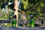 Så er vi glad i øl og når vi endelig kan slappe av litt, og når du kan dele dem med han her, blir det supert!