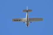 Morten 2 september 2020 - LN-MTH rett over Høyenhall, det er et Cessna 172N Skyhawk