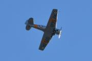 Morten 4 september 2020 - LN-TEX over Høyenhall, det er KF568  som ble bygget i 1944 og det er Nedre Romerike Flyklubb – Veteranflygruppa som eier det - trodde jeg
