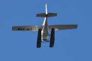 Morten 6 september 2020 - LN-ASB over Høyenhall, det er et Cessna Reims F172M som er bygget i 1974 og kommer fra Kilen Sjøflyklubb. Flyet er bygget i aluminium og er utstyrt med en 150 hk, 4-sylindret boksermotor fra Lycoming med faste propellblader