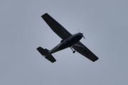 Morten 6 september 2020 - LN-BDL over Høyenhall, det er et Cessna 172P som er Ringerikes Motorflyklubb sitt klubbfly