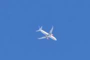 Morten 15 mai 2020 - Stort fly over Mjøsa, det er vel SAS som flyr her