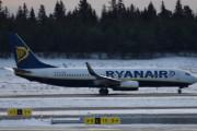 Morten 5 februar 2020 - EI-EVL som er et Boeing 737-8AS som Ryanair flyr rett før det tar av