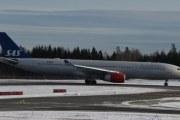 Morten 5 februar 2020 - Litt galt å skrive det kanskje, men dette SAS flyet kom for nære til at jeg kan identifisere det