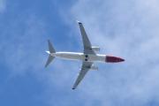 Morten 12 juli 2020 - SE-RPH over Høyenhall, det er et Boeing 737-8JP som Norwegian Sweden opererer