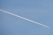 Morten 14 mars 2020 - Siste jetflyet over Høyenhall i dag