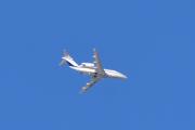 Morten 2 februar 2020 - OY-NLA over Høyenhall, det er et Cessna 650 Citation III