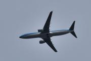 Morten 20 juli 2020 - PH-BCH over Høyenhall, det er et Boeing 737-8K2 som KLM eier