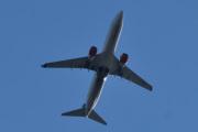 Morten 22 juli 2020 - LN-RRG over Høyenhall, det er et Boeing 737-85P som SAS eier