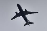 Morten 27 august 2020 - G-EUPT over Høyenhall, det er et Airbus A319-131 som British Airways eier