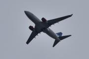 Morten 27 august 2020 - LN-RRB over Høyenhall, det er et Boeing 737-783 som SAS eier