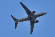 Morten 27 mai 2020 - LN-RPJ over Høyenhall, det er en Boeing 737-783 som er SAS sitt
