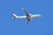 Morten 31 august 2020 - PH-EZG over Høyenhall, det er et Embraer E190STD som KLM eier
