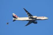 Morten 4 januar 2020 - Qatar Cargo over Høyenhall, hvorfor ser du her en fugl er i veien