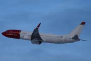Morten 5 februar 2020 - LN-NIG som er et Boeing 737-8JP som Norwegian flyr